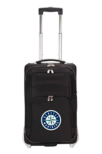 mlb-seattle-mariners-denco-21-inch-carry-on-luggage-black