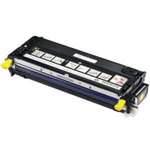 Photo - Original Dell 330-1204 Yellow Toner Cartridge for 3130cn/ 3130cnd Color Laser Printer
