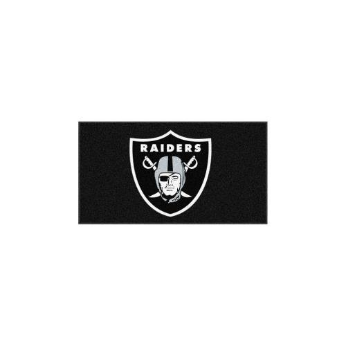 FANMATS 7425 Oakland Raiders Rookie Mat (18