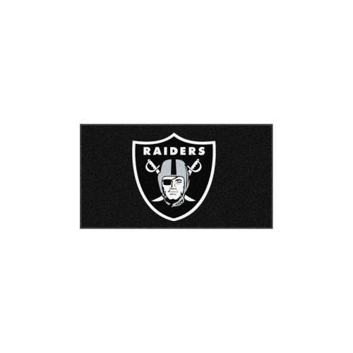 - FANMATS 7425 Oakland Raiders Rookie Mat (18
