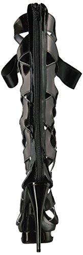 Ellie Ellie Sandal Shoes Black Teagan Shoes 603 Womens Dress Platform 64vvqP5W