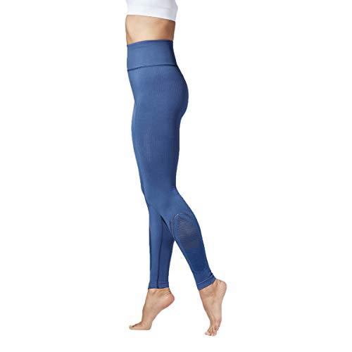 - Xterity 3.0 Defy Women's Seamless Leggings/Yoga Pants with High Waist & Pocket (Blue Indigo, Medium)