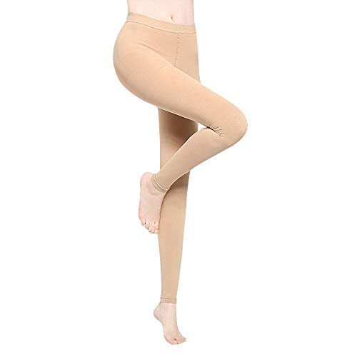5dbe0ca711 DCCDU Compression Pantyhose for Women & Men, Medical Gradient Footless  Compression Support Pantyhose Firm Support
