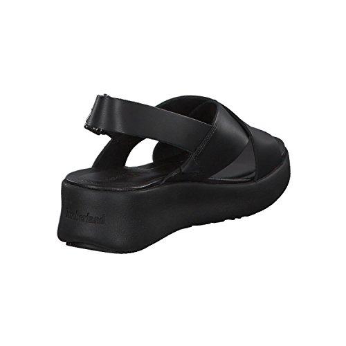 Slingback Sandali 15 Jet Angeles Black Cinturino Donna Los con alla Nero Timberland Caviglia Wind PxIwtgqO