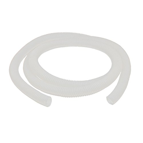 uxcell Flexible 21mm Dia PVC Corrugated Wire Tubing Conduit Pipe 75Ft