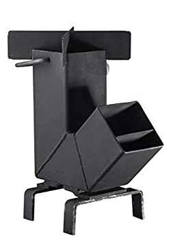 Bruntmor Camping Rocket Stove with Handle
