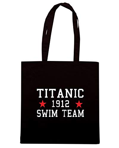 Speed Shirt Borsa Shopper Nera TR0138 TITANIC SWIM TEAM