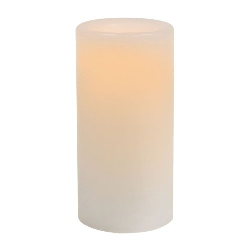 Sterno Home Inglow 3-Inch Tall Flameless Wax Covered Votive Candle with Embedded LED, White