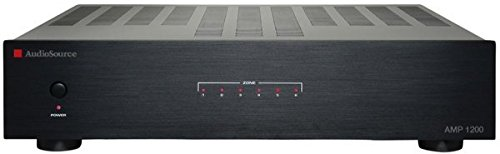 AudioSource AMP 1200 12-Channel Audio Distribution Amplifier (Black) ()