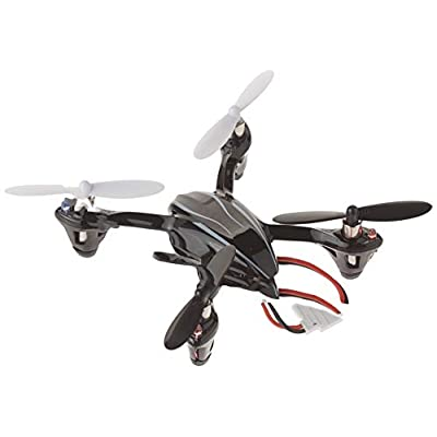 Hubsan X4 (H107L) 4 Channel 2.4GHz RC Quadcopter, Black: Toys & Games