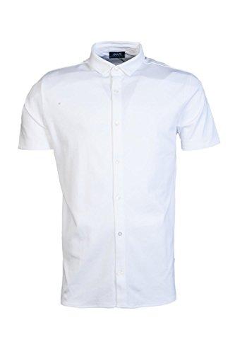 ARMANI JEANS Mens Casual Shirt 3Y6C85 6JPRZ Size 3XL White