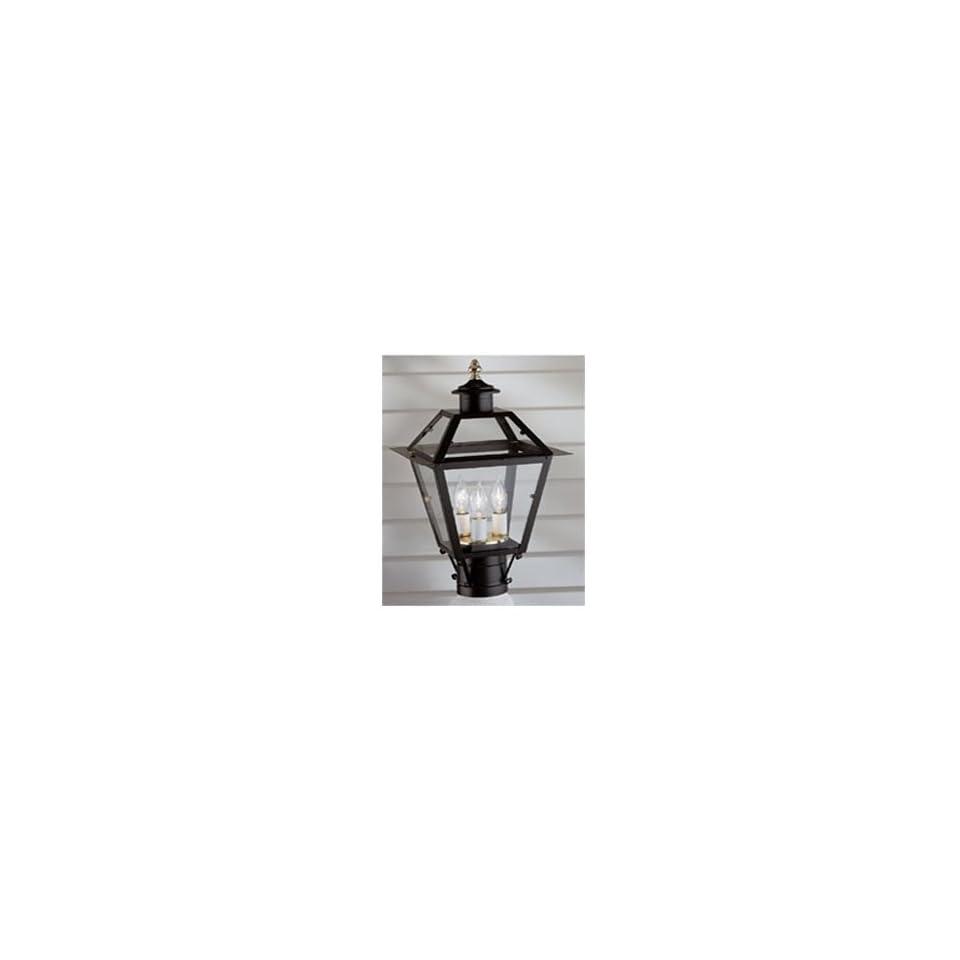 Norwell Lighting 2234 CLBL BL Black Indoor & Outdoor Lighting 3 Light