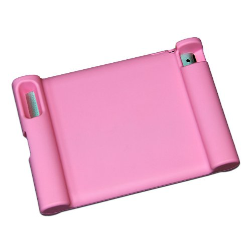 Maximal Power Shock Impact Proof Silicone Cover for Apple iPad 2, 3rd, 4th Generation Case, Pink (POU IPAD/PK) by MaximalPower (Image #1)