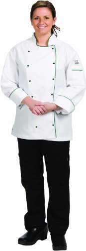 Chef-Tex Ladies Brigade Jacket by San Jamar