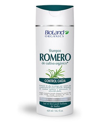 Organic Rosemary Shampoo for Hair Loss 14.2 fl.oz. | Shampoo de Romero Orgánico