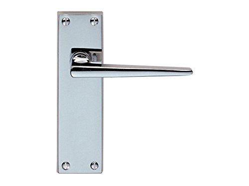 Carlisle Brass DL76CP Victorian Contemporary Lever Latch Furniture, Chrome/Silver -