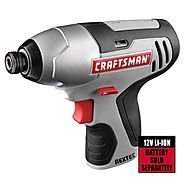Craftsman Nextec 12 Volt Lithium Ion 1/4 Inch Impact Driver (Bare Tool, No Battery or Charger Included) Bulk Packaged 12v Cordless 1/4' Impact Driver