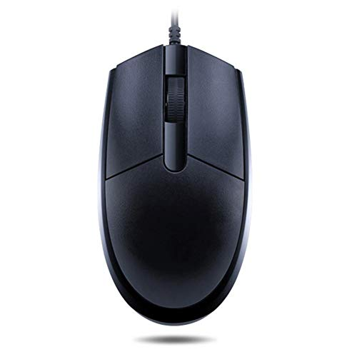 - QLPP Computer Mice,Ergonomic USB Computer Mouse,with 3 Buttons,2400DPI,Optical Universal Notebook PC Wired USB Mouse,for Office,A