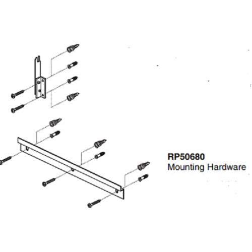 Brizo RSVP Mirror Hardware Pack RP50680- Pack of 2