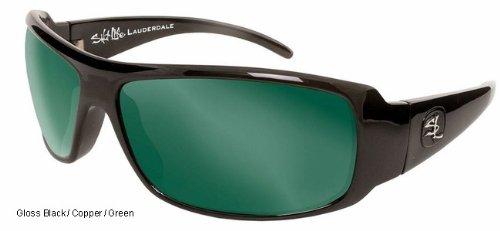Lauderdale Men's Sunglasses-Black by Bimini Bay Outfitters