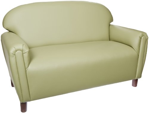 Brand New World School Age Enviro-Child Upholstery Sofa  - Sage by Brand New World Furniture