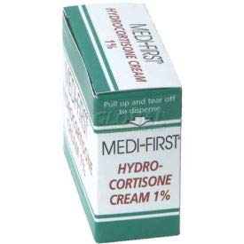 Hydrocortisone Cream 1%, 1g Foil Pack, 25/Box, (Pack of 10) (21173) by Medique Products