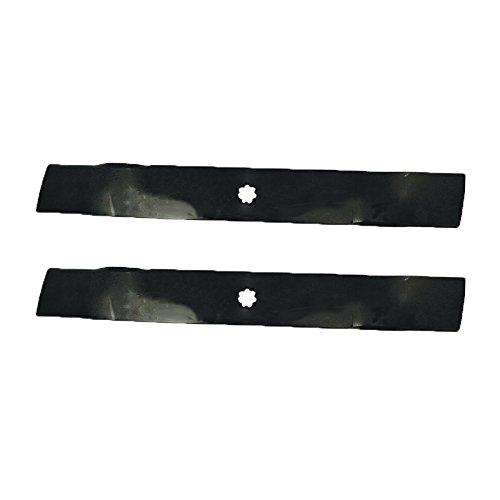 2 Pack of Mulching Blades for John Deere AM137333, GX22151, GY20850