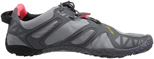 Vibram Women's V Trail Runner Grey/Black/Orange 36 EU/6 M US by Vibram (Image #7)