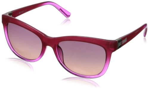 Just Cavalli Women's JC567S5583Z Wayfarer Sunglasses,Violet,55 mm