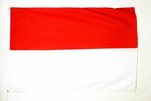 Drapeau alsacien AZ FLAG Drapeau Alsace Rot Un Wiss 150x90cm France 90 x 150 cm Polyester l/éger