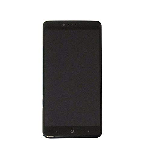 LCD display Digitizer Touch Screen Assembly Compatible with ZTE Zmax Pro Z981 (Black w/ Frame)