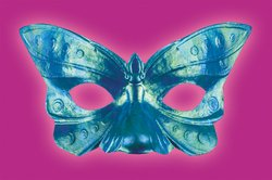 Disguise Costumes Butterfly Iridescent Eye Mask, Adult