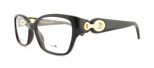 DIOR Eyeglasses 3267 02ZY Black Brown 54MM (Christian Dior Cd Eyeglasses Frame)