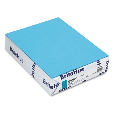 Mohawk BriteHue Blue 24 lb/60 Vellum Text Paper,