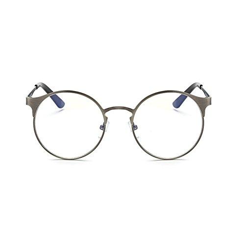 anti métal Dark oeil en chat de Verres optiques sans armature Série neutres bleus Inlefen de Gray verres Z6BUTn
