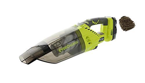 P714K Filter Ryobi Hand Vacuum, Handheld Cordless, Green (Complete Set) w/Bonus: Premium Microfiber Cleaner Bundle