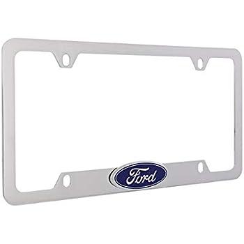 Ford Thunderbird Chrome Plated Metal License Plate Frame Tag Holder