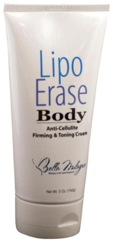 Bella Milagros Lipoerase Rx Anti-cellulite, raffermissante et Crème Body Toning, 5 onces Tube