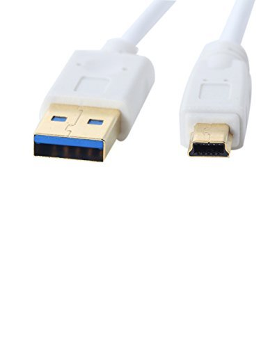 - UCEC Hi-Speed USB 3.0 Cable A Male to10-Pin Mini B - 1 Foot (0.3Meters) White