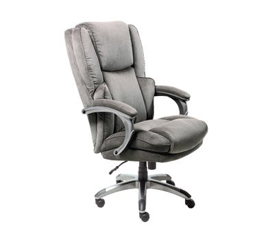 Amazing Serta Big U0026 Tall Charcoal Microfiber Executive Chair