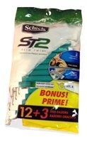 Schick Slim Twin Sensitiv Size 12ct Slim Twin Sensitive Skin Disposable Razors by Schick