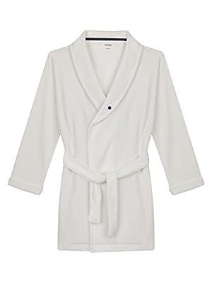 Antebies Girls' Robe Organic Cotton Plush Velour Kids Wrap Robes Coverup.