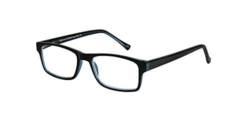 SightLine 6005 Multi Focus Computer Reading Glasses with Anti-Glare Coated Lenses (2.00, Aqua Blue) (Aqua Contact Lenses)