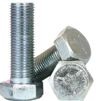Zinc-Plated 1-1//2 Long Medium-Strength Grade 5 Steel Hex Head Screw 7//16-20 Thread Size