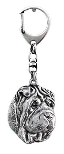 (Shar-Pei, Chinese Shar-Pei, Dog Keyring, Keychain, Limited Edition,)