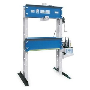 OTC 1845 55 Ton Capacity Heavy-Duty Shop Press with Electric/Hydraulic Pump