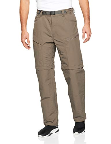 The North Face Men's Paramount Trail Convertible Pants - Weimaraner Brown - Large-Regular