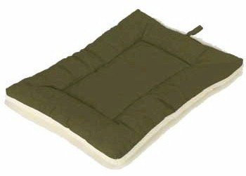 Sleep-ezz Classic Pet Bed – Olive – Large, My Pet Supplies