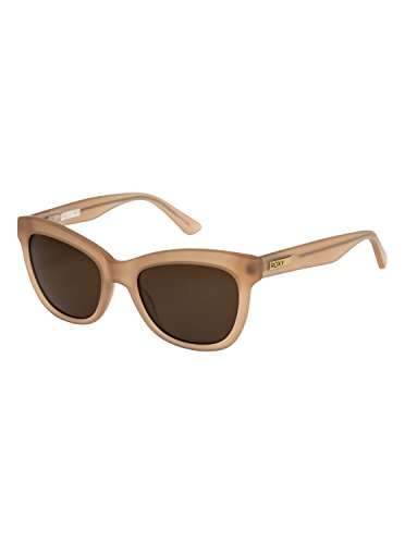 Roxy Womens Alicia - Sunglasses - Women - One Size - Orange Matte Crystal Champagne/Brown One ()