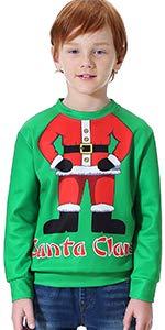 BesserBay Adult St Patrick Shirt for Unisex Irish Costume Long Sleeve Sweatshirt